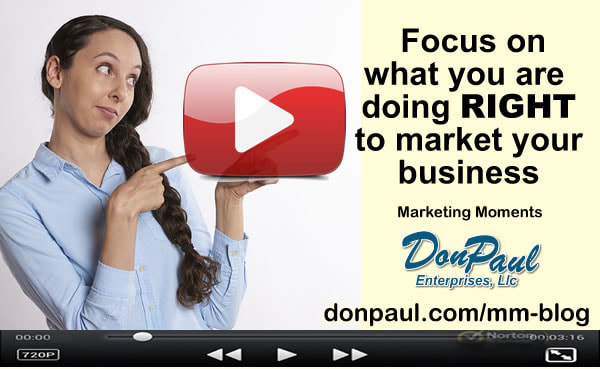 Video-What ami I doing wrong - in marketing