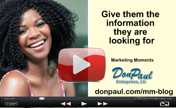 DonPaul Marketing Moments